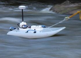 Planche à remorquer pour capteurs RiverSurveyor