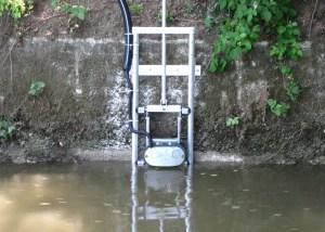 Echelle mobile pour débitmètre rivière SL