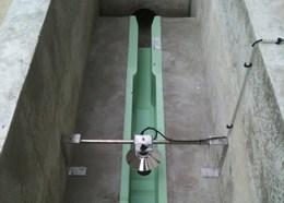 Débitmètre ultrasons pour canal jaugeur