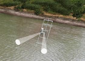 Débitmètre pour rivières et cours d'eau moyens à larges
